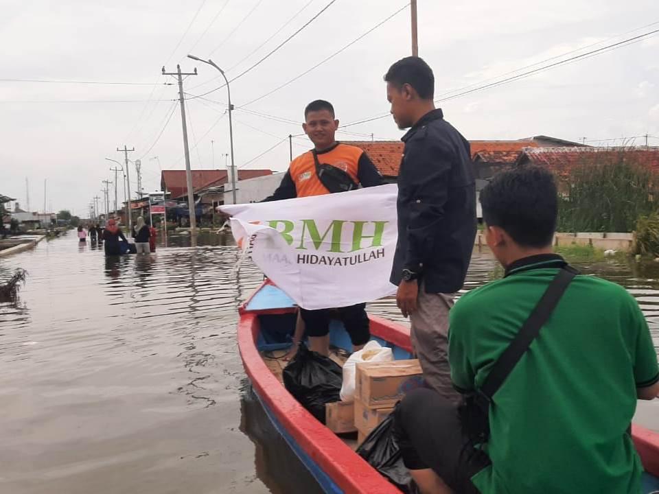 BMH Jawa Tengah Peduli Banjir Pekalongan